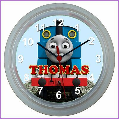 Personalised THOMAS THE TANK ENGINE WALL CLOCK