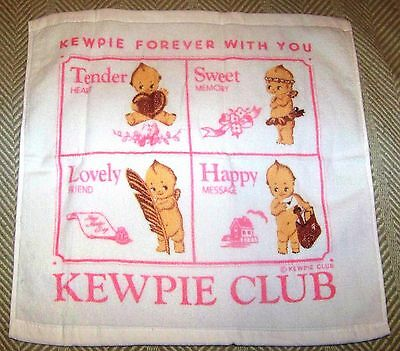 Kewpie Forever With You-Towel 15  inches Plus -  Kewpies Rose O'Neill Club