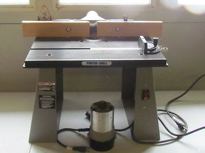 Porter Cable Router Table With Modle 698