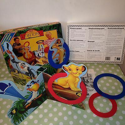 Vintage Collectable The Lion King Hoopla Hoop Children's Disney Game by JUMBO