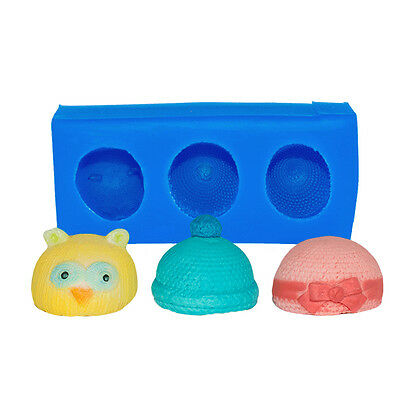 First Impressions Molds Silicone Mould - Baby Hats - Mini