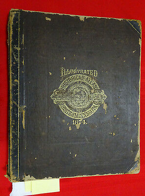 1874 Illustrated Historical Atlas of the State of Minnesota