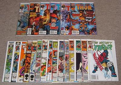 Marvel The Mighty Thor Comics x 21 (Various, From 1982 -- )