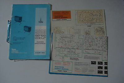 Thorn 9800 Series  Colour Television  Service Manual