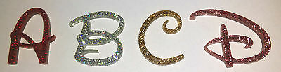 Glitter Acrylic Mirror Letters, Numbers & Symbols. 23 Fonts. Lots Of Sizes.