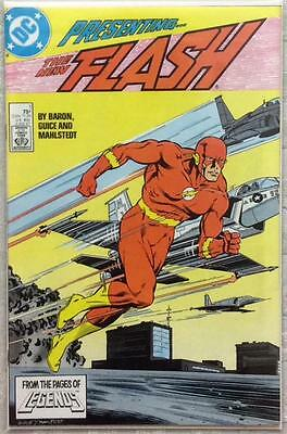 Flash #1 (1987 DC) VF condition