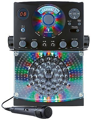 Karaoke Machine Player Singing Bluetooth 1 Microphone 36 Tracks Disco Lights Cdg