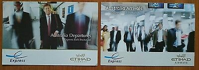 Etihad Airways Express Card Australien - Australia Departures und Arrivals