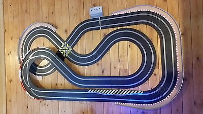 scalextric sport  digital set track 8x4 with 2 digital dpr ferrari  cars