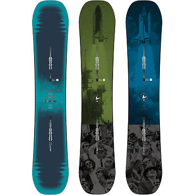 Burton Process Cambre Off Axis Freestyle Snowboards Canal ICS 2015-2017 NEU