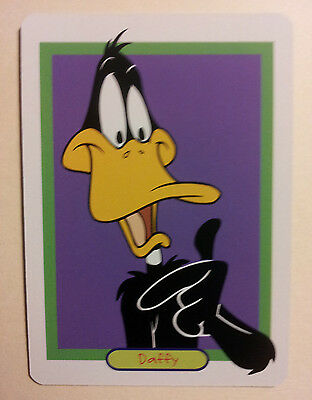 Daffy Duck Single Playing Card - Must See !!