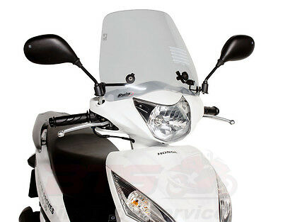 Windschild Puig Trafic smoke Honda Vision-Vision NSC,Vision,NSC110,50ie