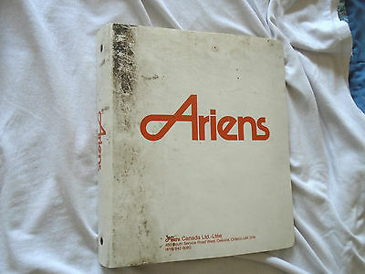 Ariens Binder of Service Bulletins & service letters Dates 1997-1998