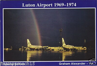 LAST ONE -Rare LUTON AIRPORT 1969-74 Book Special Edition - Court Line Dan Air