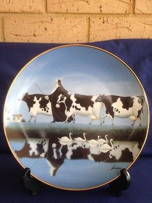 Franklin Mint 'follow The Leader' Limited Edition Heirloom Plate.