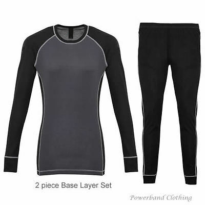 Ladies Thermal Base Layer Set: Motorcycle, Cycle, Ski, Sport, Outdoor Activities