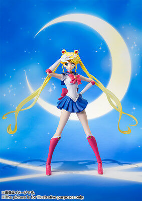 New Bandai S.H.Figuarts Sailor Moon Crystal Action Figure From Japan F/S