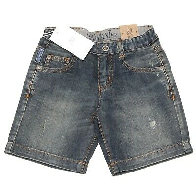 6234O bermuda jeans bimbo ARMANI JUNIOR trousers shorts kids