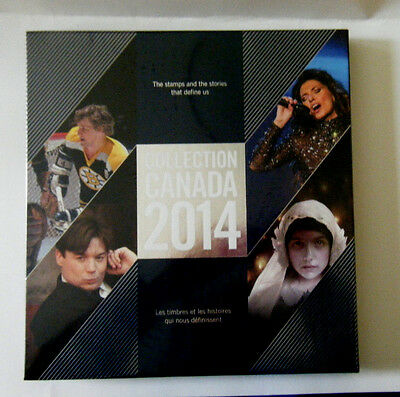 CANADA POST STAMP COLLECTION ALBUM 2014 NEW & SEALED~Mike Myers,Shania Twain....
