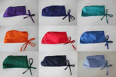 NEW! Medical Nursing Vet Dental Surgical Scrub Cap - Various Colours
