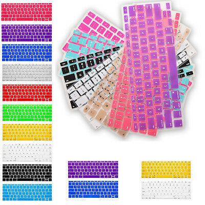"New Soft Keyboard Case Cover Protector for Apple Mac Book Air Pro 13.3""15.4"" 17"""