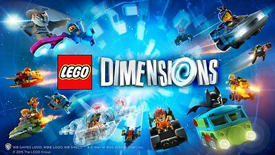 Lego Dimensions Video Game Level Packs Fun Packs & Team Packs 30+ Characters