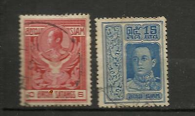 2 timbres ancien Siam