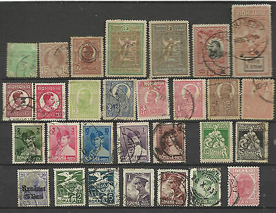 Lot de timbres ancien Roumanie Romania