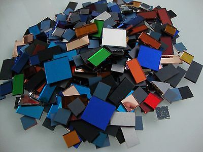 Mosaic Off Cuts Mirror Tiles Various sizes 2 mm and 1.6mm thick, 500 pcs