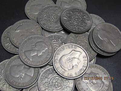 choice of date english two shilling florin pre decimal