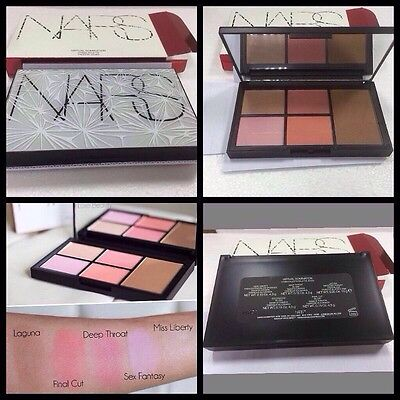 NARS VERTUAL DOMINATION Cheek Palette-UNSEALED & BOXED
