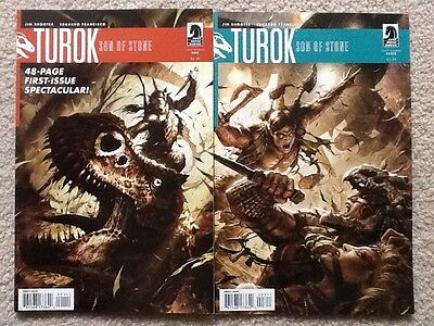 Turok Son of Stone 1 and 3 Dark Horse revival 2010 Jim Shooter VF