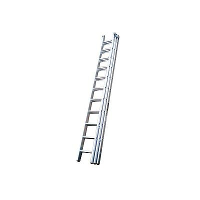 Trade EN131 Triple & Double Section Aluminium Extension Ladders Youngman