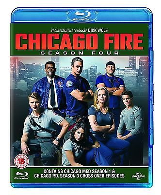 CHICAGO FIRE - Complete Season Series 4 Collection Boxset (NEW BLU-RAY)
