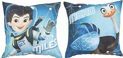MILES FROM TOMORROW 'CADET' Printed Plush Cushion 40cm x 40cm