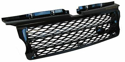 Gloss Black 2010 style front grille for Range Rover SPORT 05-09 supercharged HST