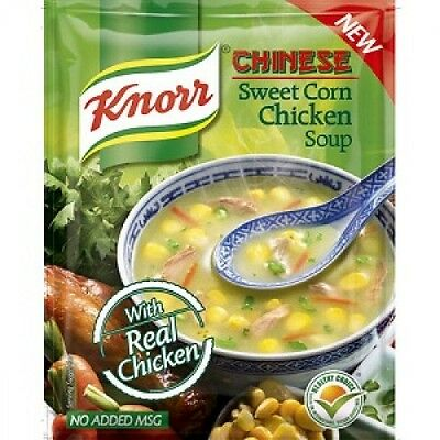 Knorr Chicken Soup - Sweet Corn, 42 gm Pouch x 2 pack