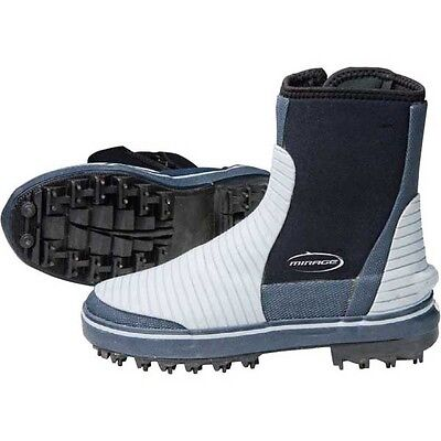 Mirage Rockhopper Sturdy Wetsuit Neoprene Boots With Steel Spikes for Rock Fishi