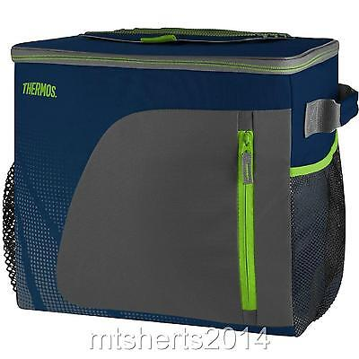 Brand New Thermos Large 36 Can 30L Insulated Cool Bag Lunch Box Navy S4