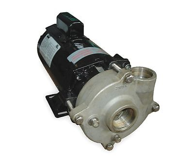 Stainless Steel 1/2 HP Centrifugal Pump 115/230V !63D!