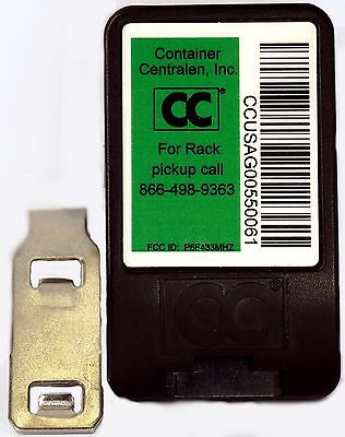 New RFID Tracking Tags for Container Centralen Inc. 20 Pack