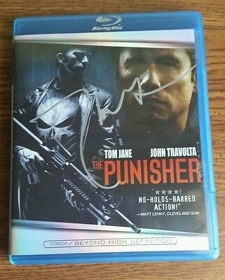 The Punisher Bluray signed by Thomas Jane - authentic autograph - Marvel - Proof