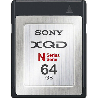 Sony 64GB N Series XQD Format QDN64 Memory Card
