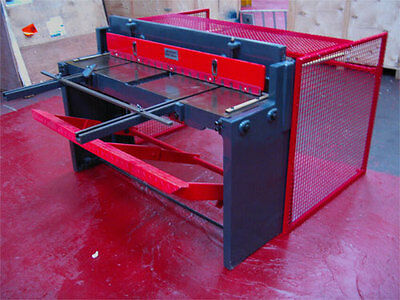 New CARTER 1320x1.5mm Treadle Operated Sheet Metal Guillotine