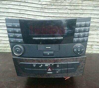 Mercedes E class W211 radio,stereo and cd changer set A2118200879,A2116800552