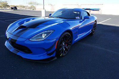2017 Dodge Viper ACR Extreme 2017 Viper ACR Extreme Competition Blue