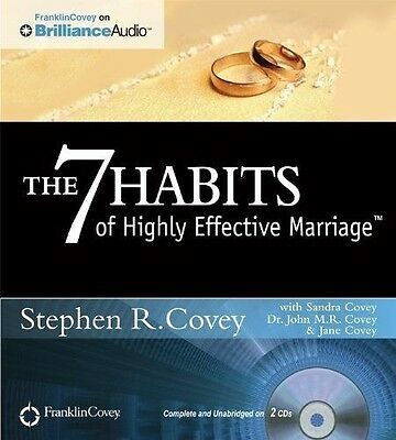 The 7 Habits of Highly Effective Marriage (New Audiobook CD) by Stephen R. Covey