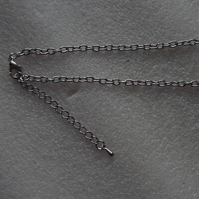 """50pcs 18"""" Fine Chains Silver Plated For Craft Jewellery Making Fast Postage"""