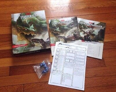 Dungeons And Dragons Starter Set Fantasy Roleplaying D&D Boxed Game