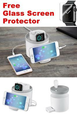 USB Organizer STATION STAND Charger Charging Docking Dock For iWatch APPLE WATCH